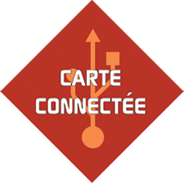 Logo carte connectée